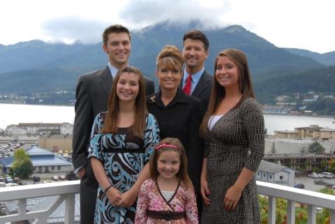 sarah palin's family