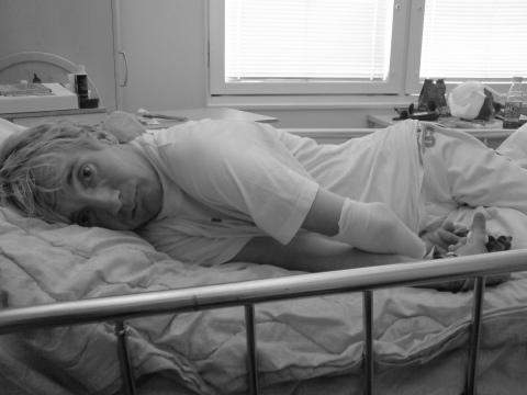 johnny på sjukhuset