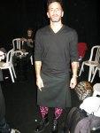 Marc Jacobs i skum kjol med strumbyxor